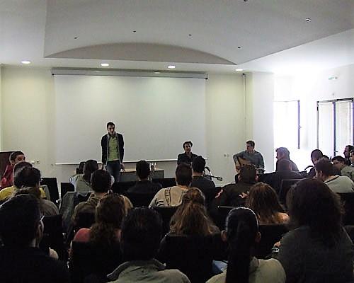 Σεμινάριο στο Τμήμα Λαϊκής και Παραδοσιακής Μουσικής ΤΕΙ Ηπείρου 2011