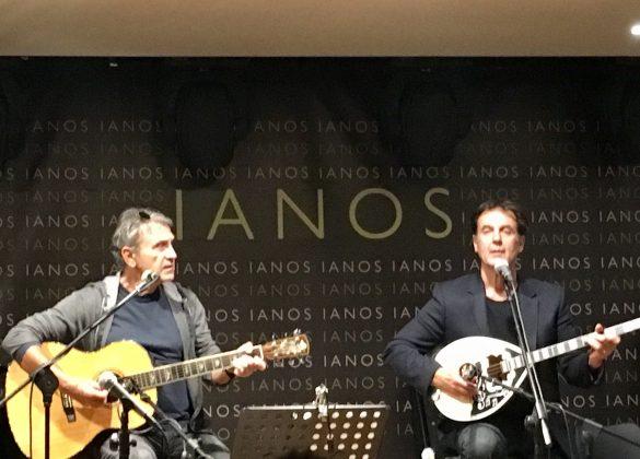 Με το Γιώργο Νταλάρα στη σκηνή του  ΙΑΝΟΥ - Οκτώβριος 2017